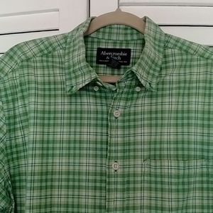 Button down shirt, Abercrombie & Fitch